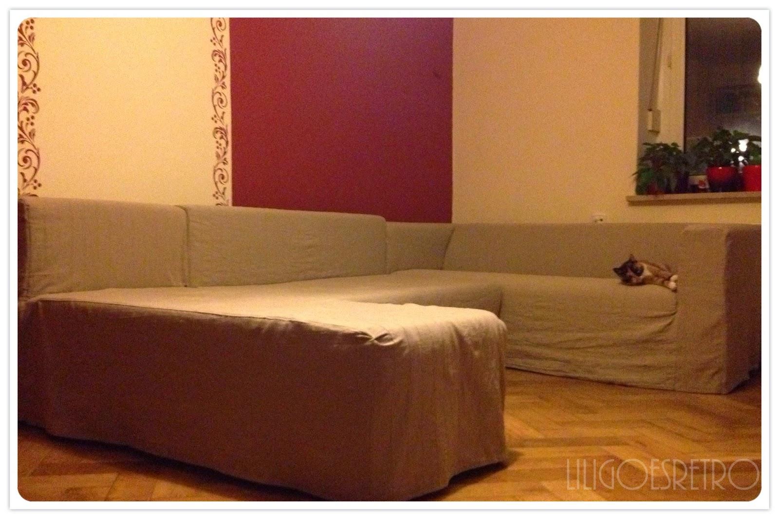 lili goes retro die sofalandschaft oder aus zwei mach eins. Black Bedroom Furniture Sets. Home Design Ideas