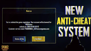 Pubg mobile new anti-cheat system