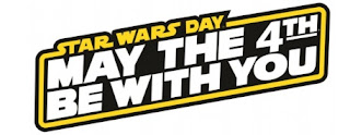 Logo Star Wars Day with May the 4th be with you