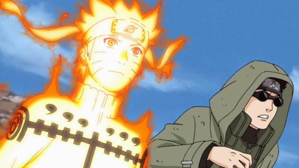 Naruto y Shino