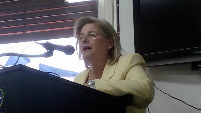 Ομιλία καταπέλτης της συναγωνίστριας Ελένης Ζαρούλια στα γραφεία της Τ.Ο. Νοτίων Προαστίων - ΒΙΝΤΕΟ