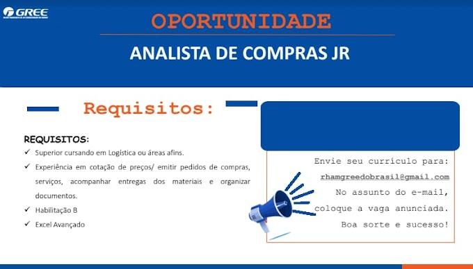 ANALISTA DE COMPRAS JR