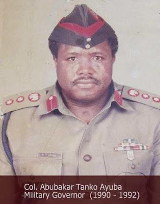 General Abubakar Tanko Ayuba