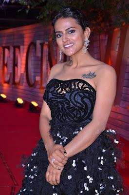 Actress Shraddha Srinath Stills at Zee Telugu Cine Awards 2020 Red Carpet