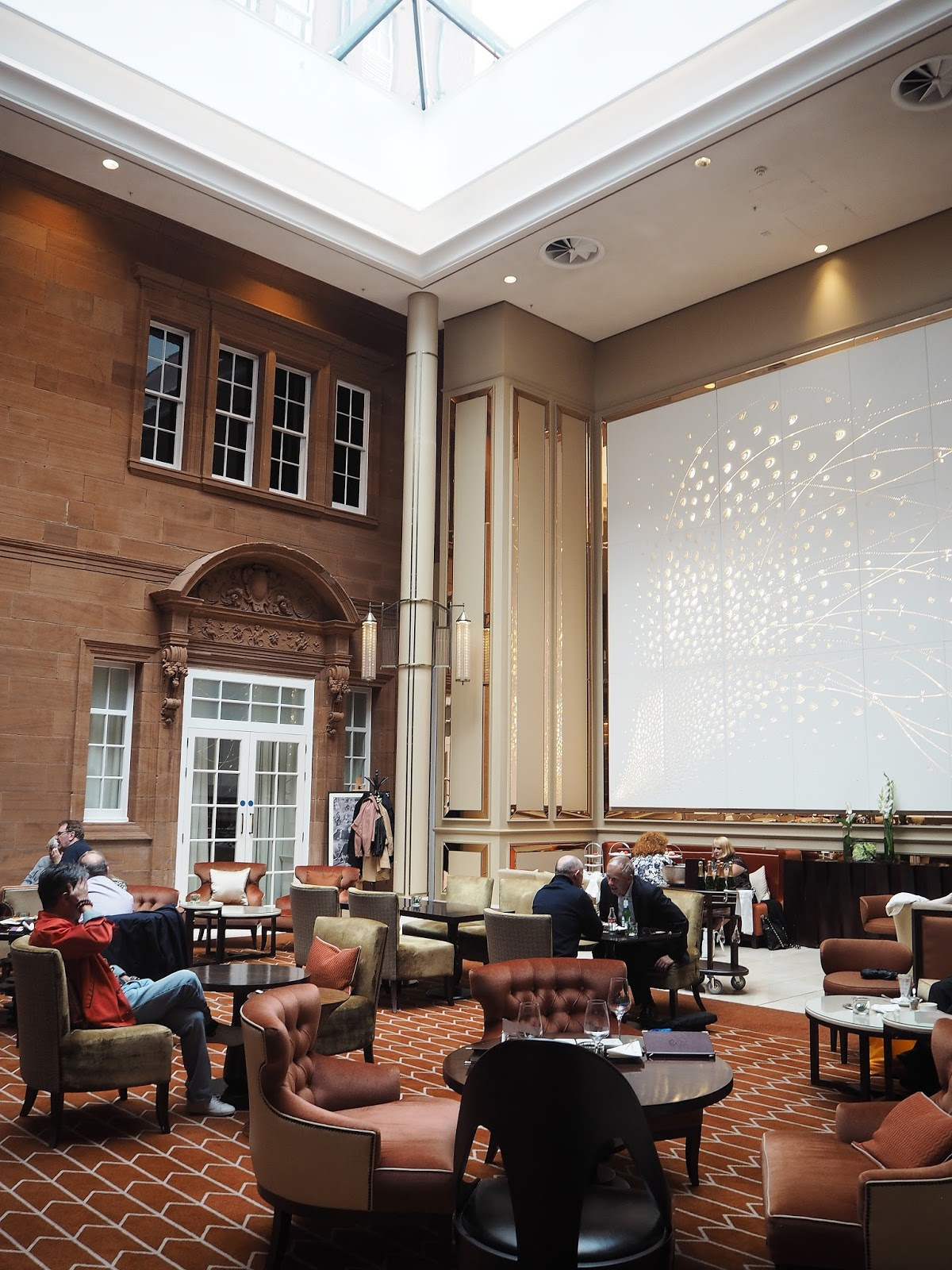 Waldorf Astoria Edinburgh Summer Afternoon Tea