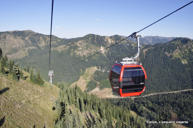 Mt. Rainier Gondola - Crystal Mountain Resort - Washington