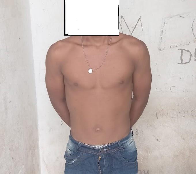 Preso em Chapadinha um dos suspeitos de participação em arrastão que assustou moradores no povoado Bom Sucesso
