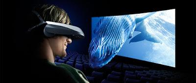 Auge 3D realidad virtual