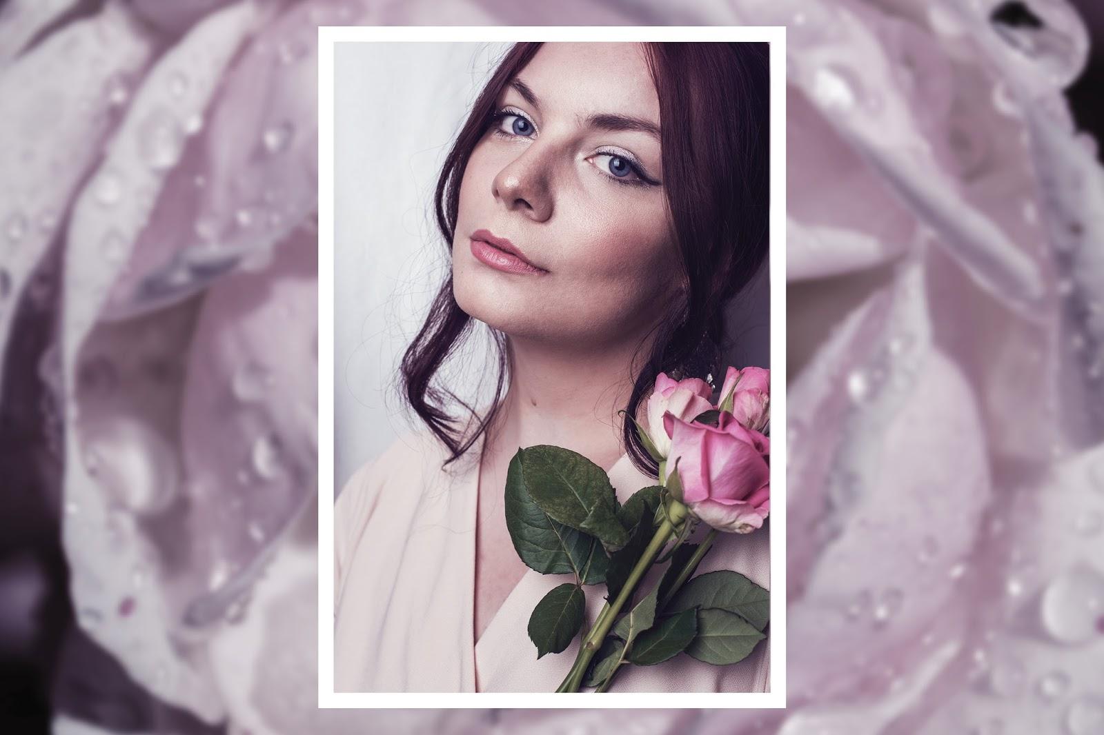Romantic First Date Make Up Look | Rose Kiara Peaches