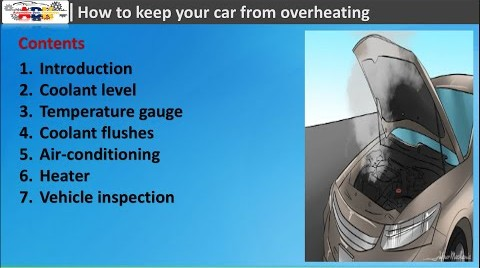 auto cooling system maintenance