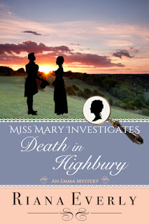 Book Cover: Death in Highbury by Riana Everly