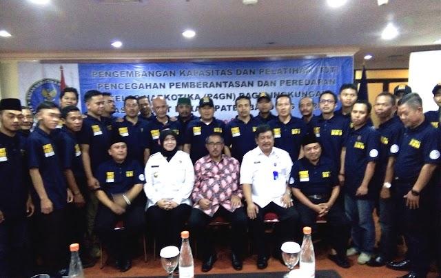 BNN Kabupaten Bandung Barat Sosialisasikan Program P4G Narkoba