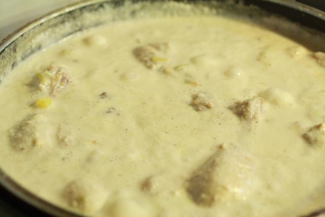 Sopa de maní / Peanut soup