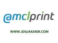 Lowongan Kerja Jogja Designer Grafis dan Customer Service di Mclprint