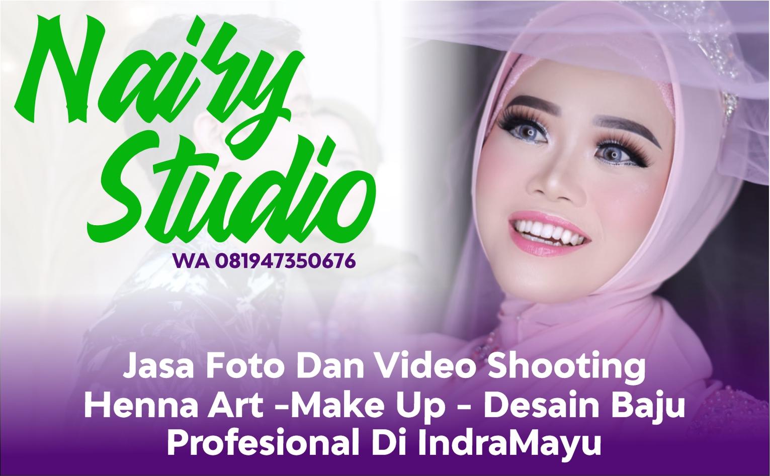 Info Nairy Studio - Jasa Foto Dan Video Shooting - Make Up Rias Pengantin - Henna Art - Desainer Baju Fashion Di Indramayu
