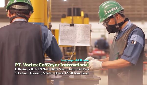 Lowongan Kerja PT. Vortex Conveyor International Delta Silicon