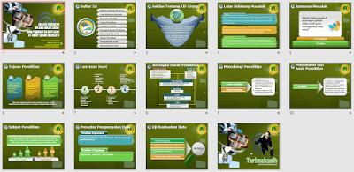 Contoh Slide Presentasi untuk Sidang Skripsi dan Tesis