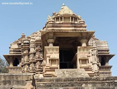 चित्रगुप्त मंदिर या सूर्य मंदिर खजुराहो  - Chitragupta Temple or Sun Temple Khajuraho