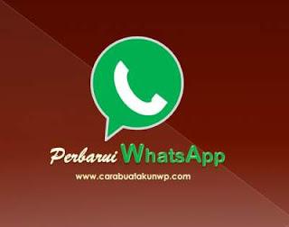 Cara Perbarui WhatsApp Ke Versi Baru Online