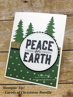 Created by Kay Kalthoff with Stampin' Up! Carols of Christmas Bundle for Stamping to Share Swaps.