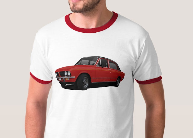 Classic British cars Triumph t-shirt