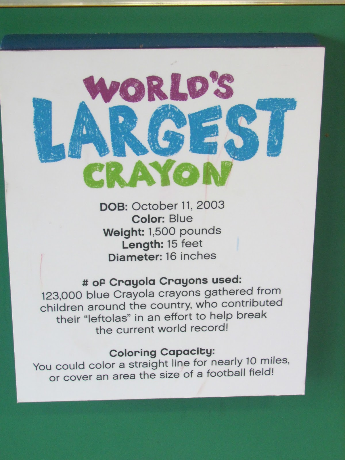 blessings of a stay at home mom crayola experience an honest review