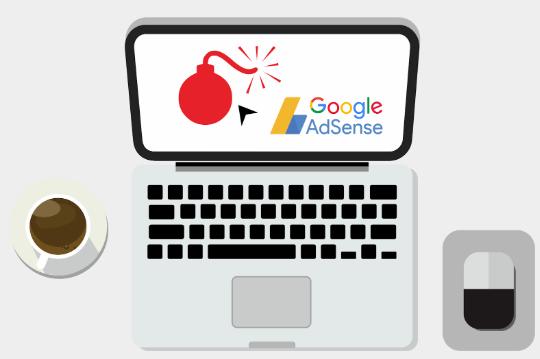Penyebab Serta Cara Mengatasi Akun Google Adsense di Bom Klik