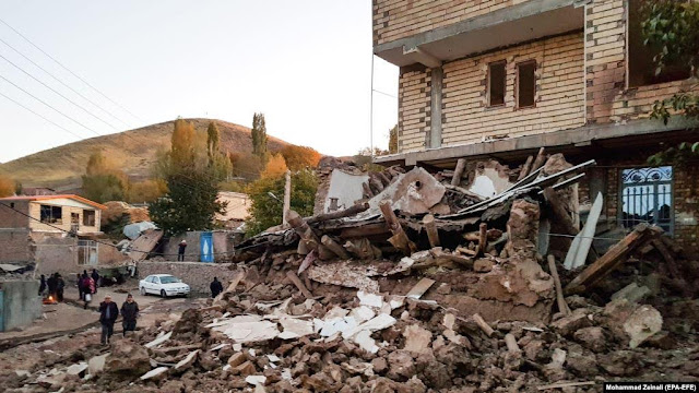 Nuevo terremoto en Irán deja 6 muertos y 300 heridos