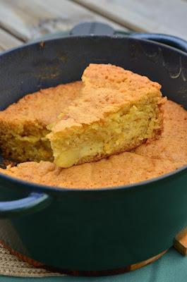 Gâteau cocotte aux pommes