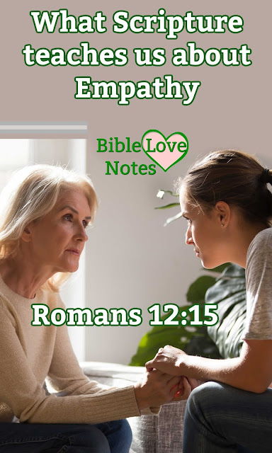 Romans 12:15 gives us a two part command that can bless us and bless others. Will you take the challenge?