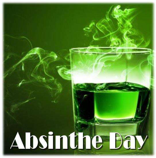 National Absinthe Day Wishes Beautiful Image
