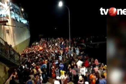 Video Penampakan Warga Natuna Eksodus Besar-besaran Keluar Pulau Gara-gara Corona
