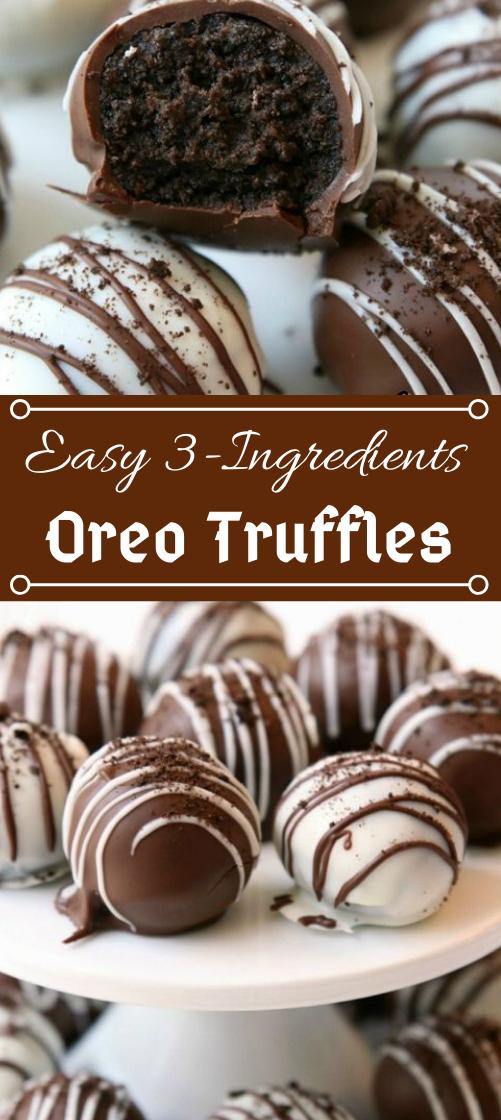 BEST OREO BALLS #desserts #oreo #brownies #balls #vanilla