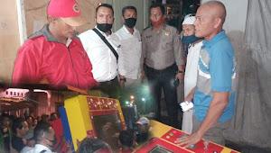 Polsek Medan Labuhan Amankan Mesin Judi Ketangkasan Tembak Ikan di Marelan