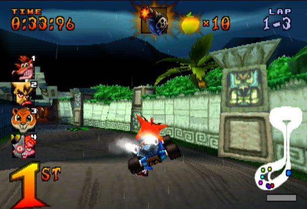 Crash Team Racing CTR PS1