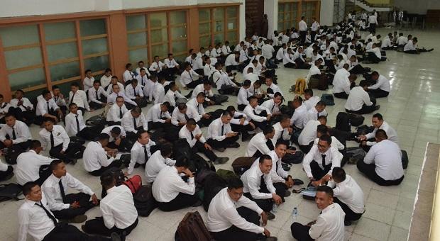 Ratusan CPNS Bakamla RI Padati Aula Gedung Perintis Kemerdekaan