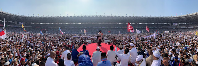 Prabowo Sebut Nama Humphrey Djemat Sebagai Ketum PPP, Massa Pendukung Bersorak