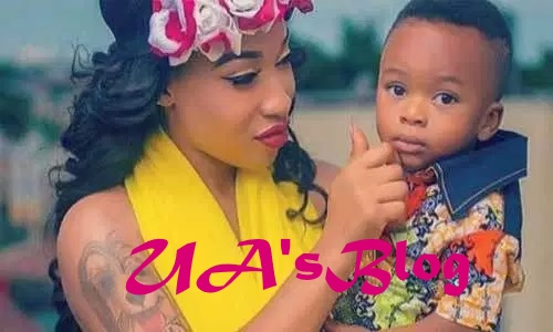 Court bars Tonto Dikeh from featuring son in new reality show
