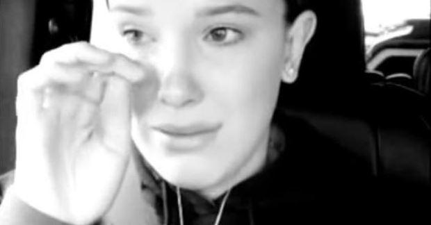 Millie Bobby Brown ('Stranger Things') denuncia en instagram, entre lágrimas, un encuentro con un fan