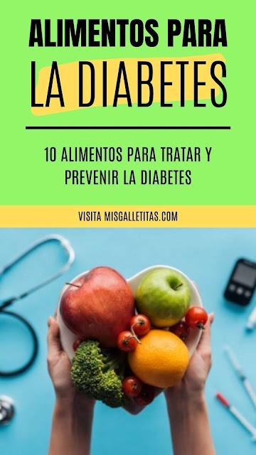 alimentos para tratar y prevenir la diabetes