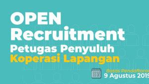 Lowongan Kerja Menjadi Petugas Penyuluh Koperasi Lapangan (PPKL) Tahun 2019