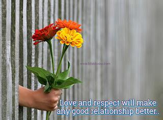 Love Respect whatsapp status, love status, love saying, good relationship status