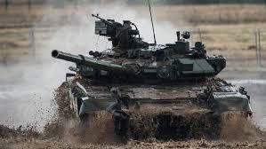 الجزائر تستقبل دفعة أخرى من دبابات ت 90 من روسيا
