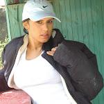 Andrea Rincon, Selena Spice Galeria 33: Gorra Azul, Cachetero Azul Foto 9