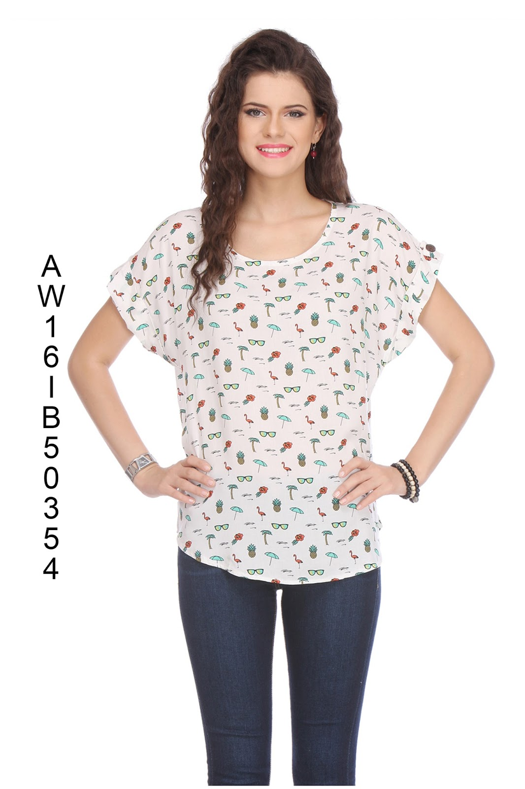 Poly Western Tops Vol 2 – New Arrival Stylish Printed Top