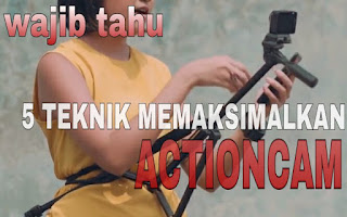 Settingan actioncam