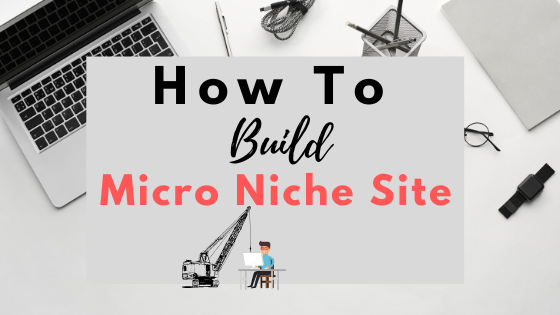 How to build micro niche website and earn money