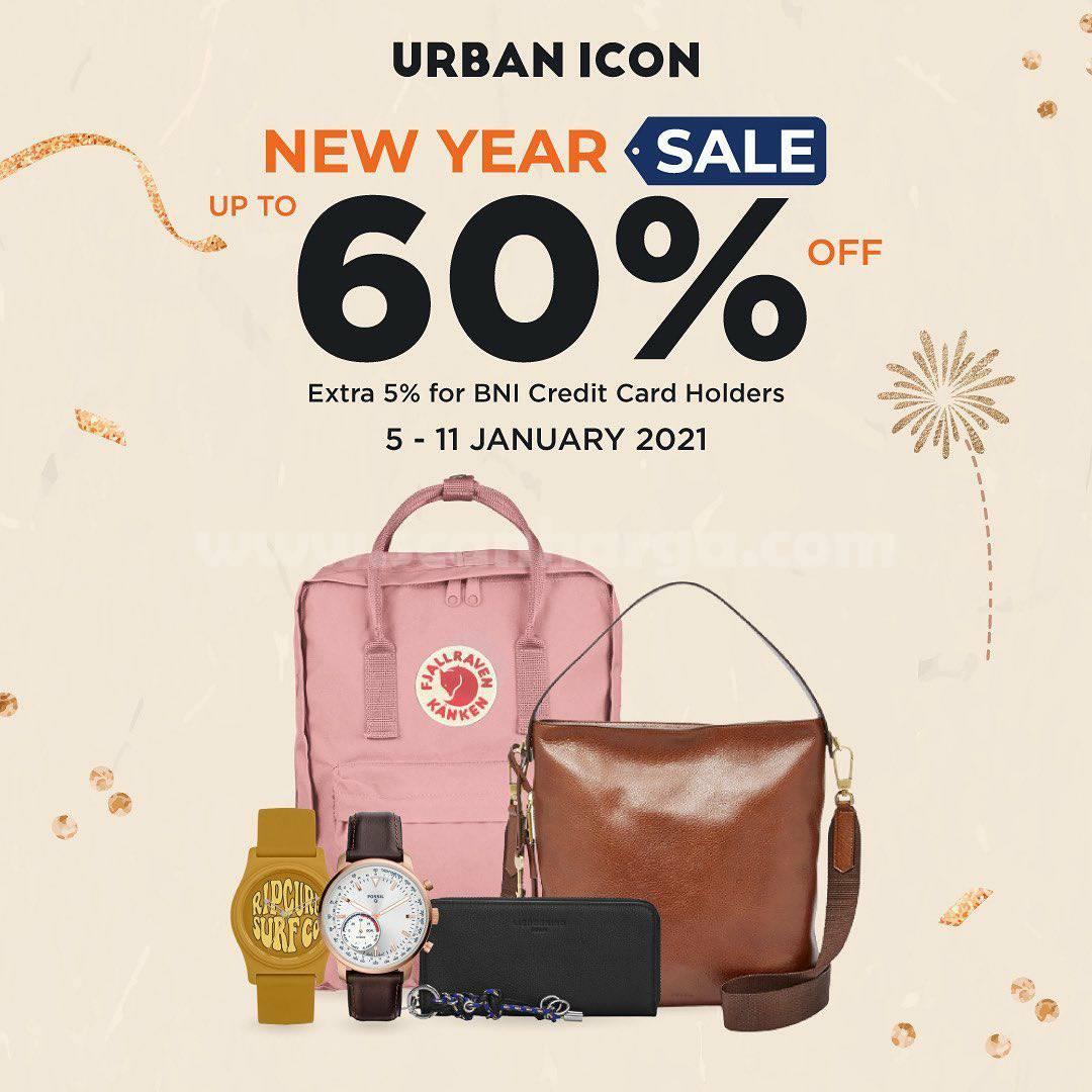 Promo Urban Icon New Year Sale! Special Diskon hingga 60% Off