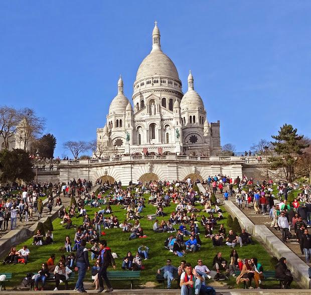 Sacred Heart Basilica Paris France