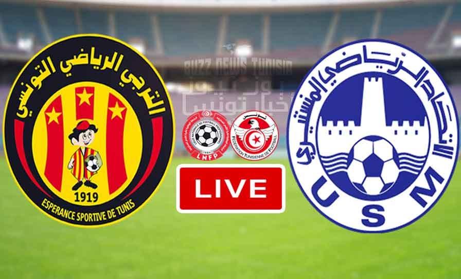 Espérance sportive de Tunis vs Union Sportive Monastirienn Live Stream